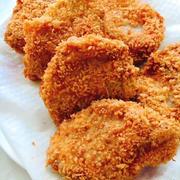 【ココナッツオイル揚げ】ナッツ風味のヒレカツ