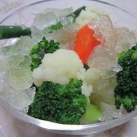温野菜のコンソメマリネ