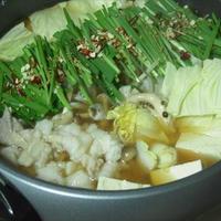 もつ鍋・モランボン「PREMIUM鍋」
