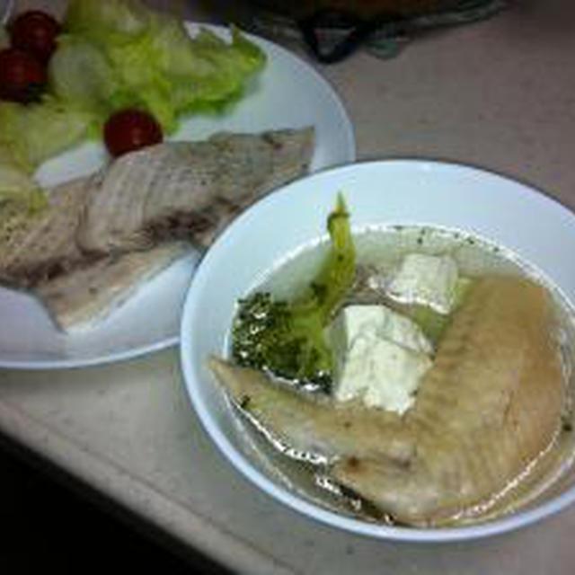 コラーゲンとビタミンCたっぷりの減塩スープ