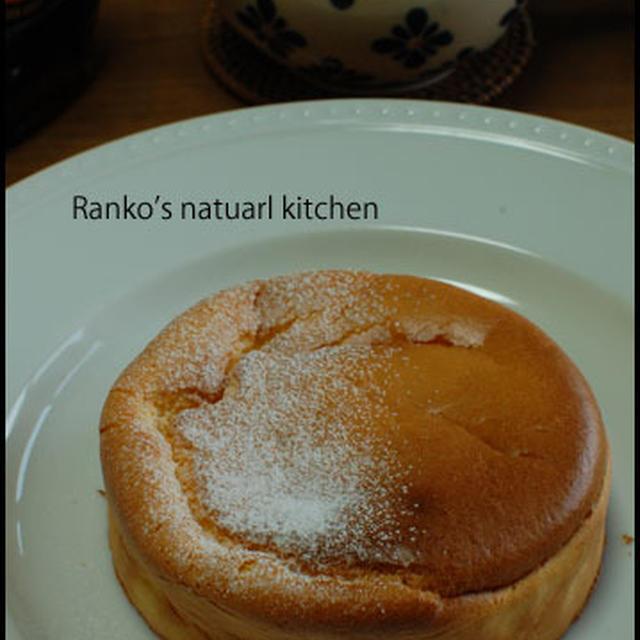 フロマージュスフレパンケーキ♪