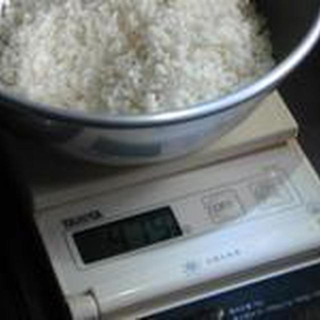 湯立てで白米(410)。。。沖縄・石垣島ひとめぼれ(最新米!)(こめいち)白米+千葉県ふさこがね(最新米)(こめいち)玄米。。。。炊き方の見直し63
