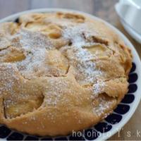 3ステップで簡単スイーツ!タルトタタン風アップルケーキ