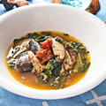 サバ缶と小松菜の梅煮【簡単ロカボなダイエット煮物】|レシピ・作り方