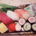 お寿司を頂きました