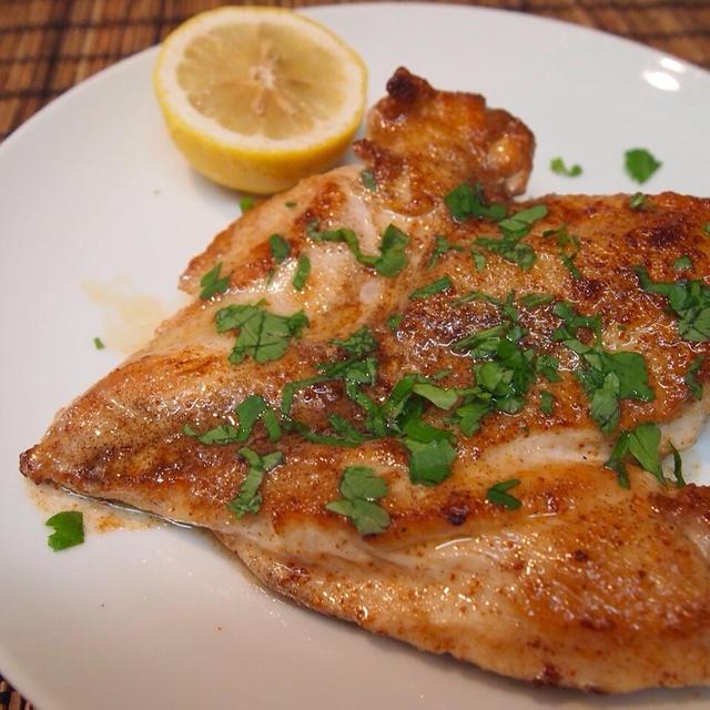 鶏むね肉レモンバター