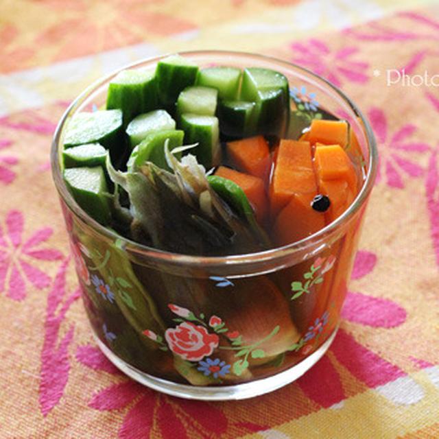 いつでも食べたい!野菜ピクルス