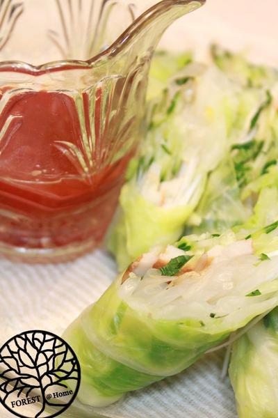 生春巻き風野菜サラダ
