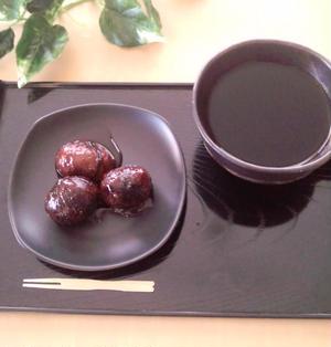 ほんのりコーヒー香る 栗の渋皮煮