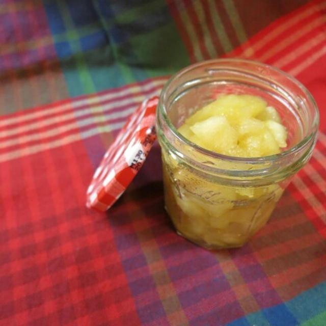 りんごのハチミツ煮