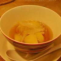花椒で中華風!ベジタリアン肉じゃが風スープ