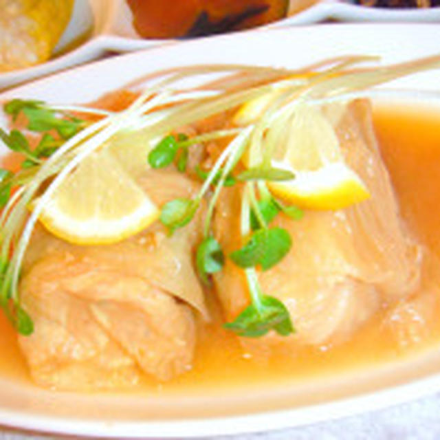 お味噌ロールキャベツのレシピ