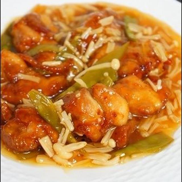 【鶏ももレシピ】とりのから揚げ、和風甘酢あんかけ。