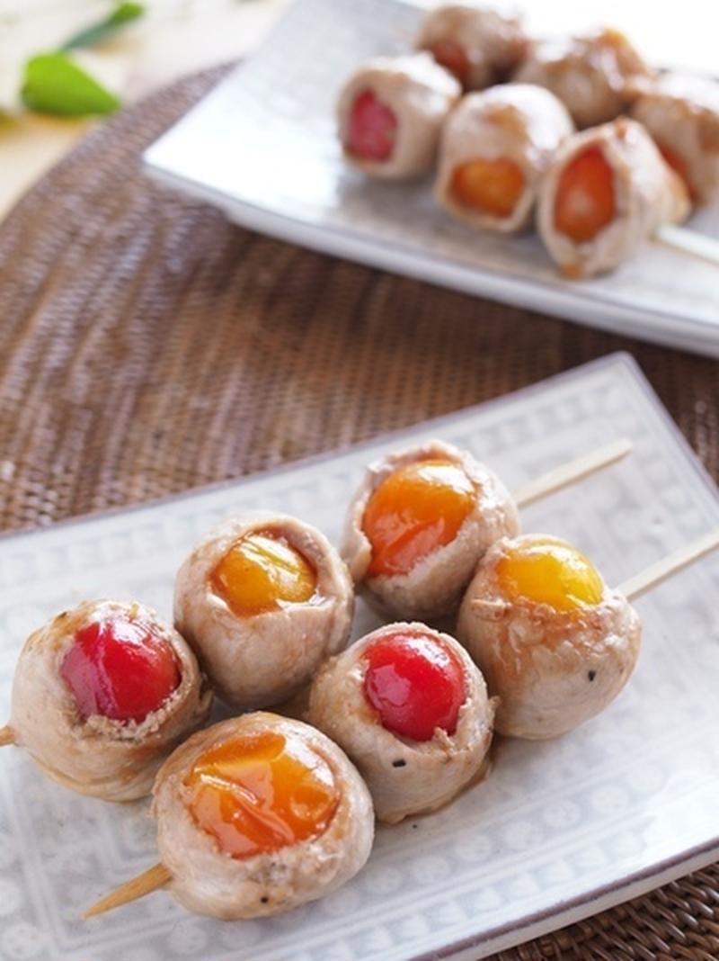 可愛くて食べやすい♪お弁当に便利「おかず串」レシピ5選