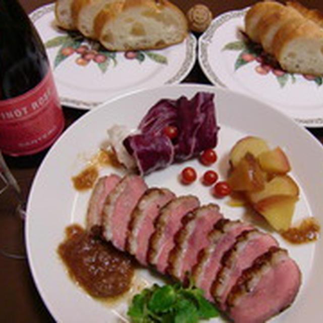鴨肉の醤油麹焼きの作り方。 合鴨ロース肉のレシピ