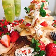 親子で楽しく作れる!今年のクリスマスは簡単「ツリーケーキ」で決まり!