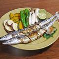 魚グリルで簡単10分!ふっくら美味しい秋刀魚の塩焼きの作り方