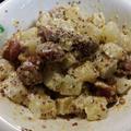 三方原馬鈴薯で作る簡単ホクホクじゃがいもとソーセージのジャーマン風のレシピ