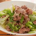 煎り酒で簡単★豚肉とキャベツの炒めもの by わんたるさん