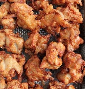 鶏とたまねぎの唐揚げ 行楽弁当の人気もの!
