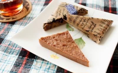 板チョコとレンジで!ミニチョコレート・チーズケーキ【簡単バレンタイン】