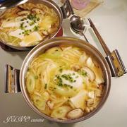 【鍋を愛する1週間】☆焼きあご入りのお出汁香る:味噌煮込みうどん☆