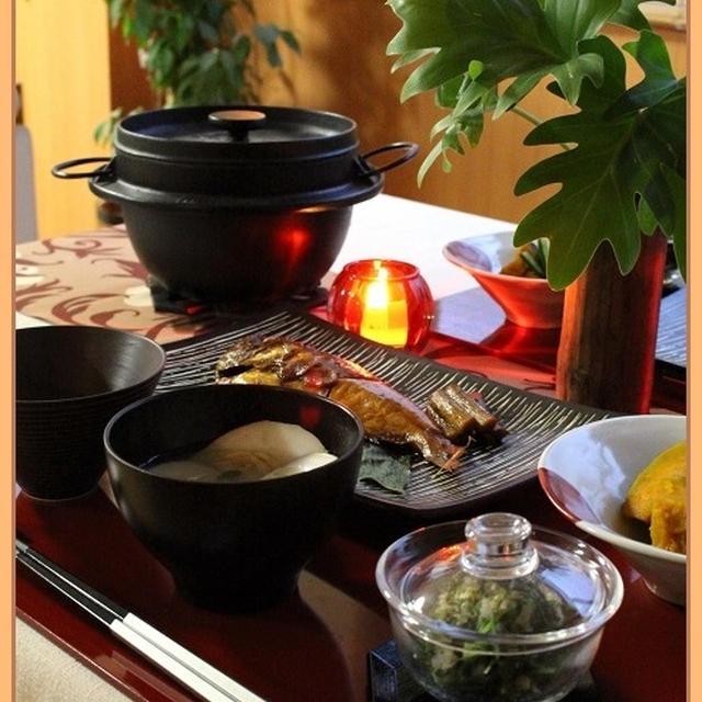焦がしきのこの炊きこみ飯♪秋の味覚に感謝