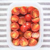 レシピ「ミニトマトの和風柚子マリネ」とお野菜百科のこと♪