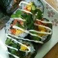 節分☆恵方巻と豆サラダ by ささっちさん