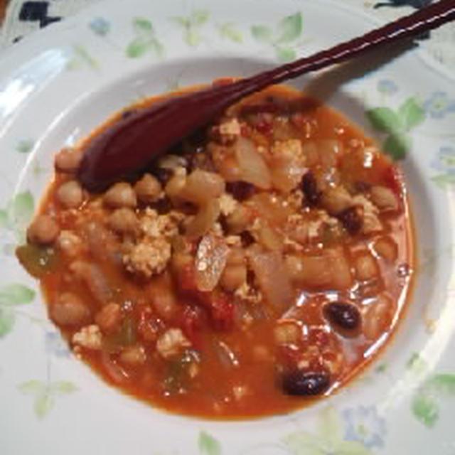 お豆いっぱいのチリコンカン