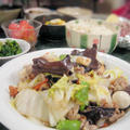 連子鯛の鯛めしと小さな野菜のおかず全6品の和食献立