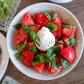 トリュフ入り♪ブッラータとトマトのサラダ