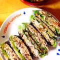 わらびの炊き込みご飯でなまり節おにぎらず。 by Misuzuさん