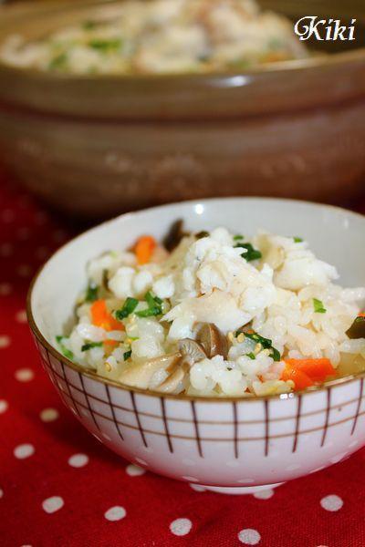 土鍋de五目鯛飯