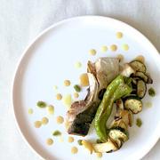 ブリカマと夏野菜のロースト