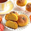 絶品!即席!かぼちゃマロンのお豆腐米粉パン
