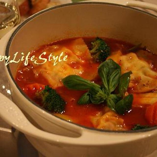 トマト鍋のスープベース