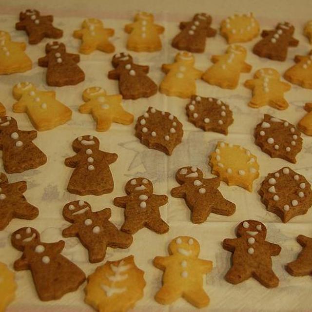 型抜きクッキーのレシピ