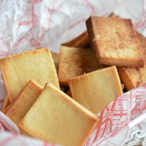 カリカリ香ばしい!「高野豆腐ラスク」でおいしく糖質オフ♪