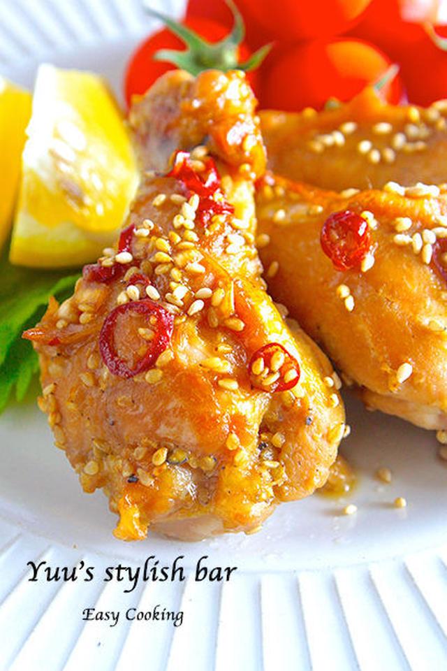 骨付きもも肉を使ったレシピ。食卓を豪華にするアレンジチキンをご紹介◎の画像