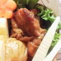 お弁当に^^豚ももスライスのナポリタンソ~ス by YUKImamaさん