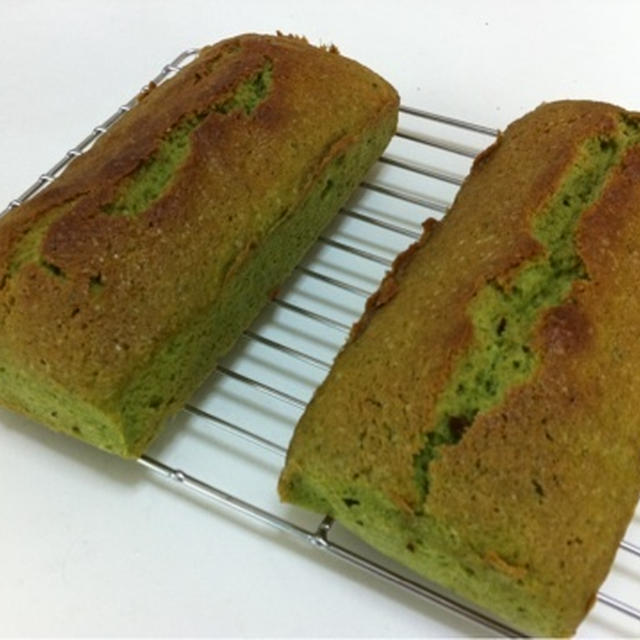 抹茶パウンドケーキ
