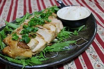 鶏胸照り焼き山椒風味