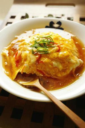 酸っぱくないのがポイント!「関西風天津飯」の作り方