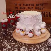 カフェオレシフォンでホワイトクリスマス♡ by ハウルさん