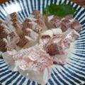 湯引きで皮まだ美味しい。鯛のお造りの作り方を紹介