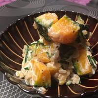 南瓜と胡瓜のグレインズサラダ