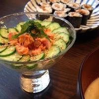 鮭フレークで簡単ちらし寿司♡