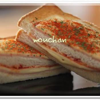 ★美味しいお土産と遅い朝ごはんにクロックムッシュ★