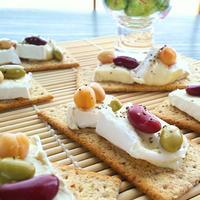 チーズとビーンズのカナッペ☆ & クックパッド座談会に参加♪